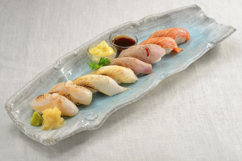 Aburi Sushi Moriawase
