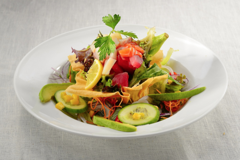 Sashimi Avocado Salad