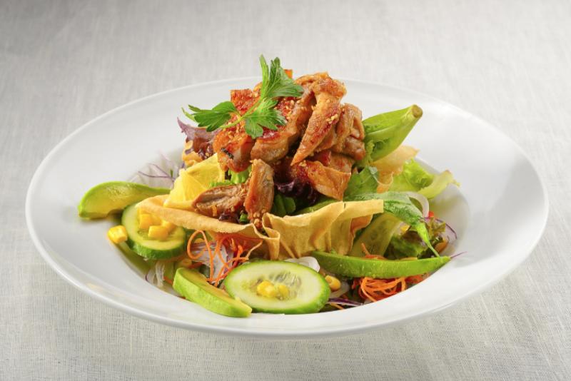 Hourensou Teriyaki Chicken Salad