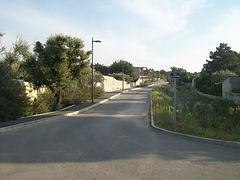 entrée du quartier des Garrigues à Bédarrides