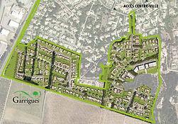 Les secteurs 3 et 4 du quartier des Garrigues à Bédarrides
