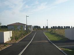 le secteur 2 du quartier des Garrigues à Bédarrides