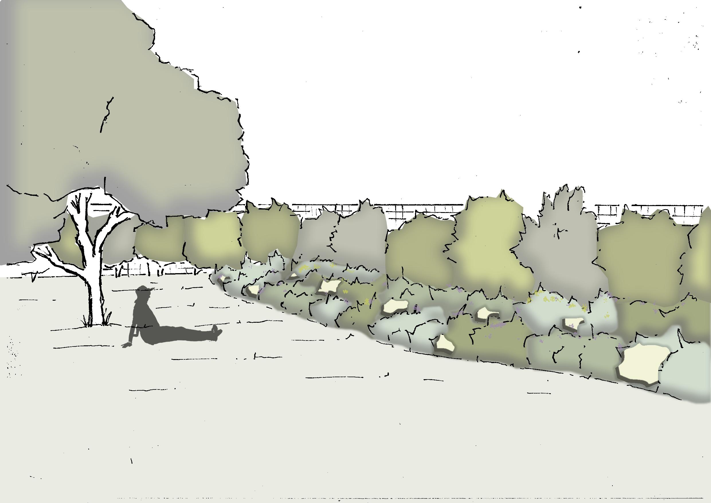 Option 3 - Jardin de Rocailles