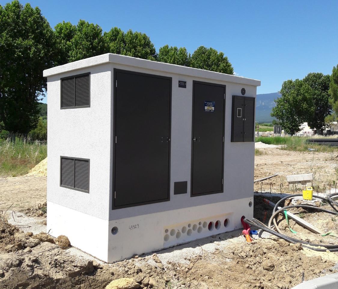 06/07/18 - Transformateur EDF posé