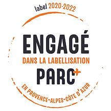 Parc+_engagé logo 2020-2022