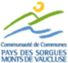 logo communauté de communes pays des sorgues, monts de vaucluse