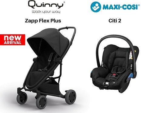 Quinny Zapp Flex Plus+Maxi-cosi Citi2(0-4yrs)