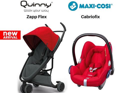 Quinny Zapp Flex+Maxi-cosi Cabriofix (0-4yrs)