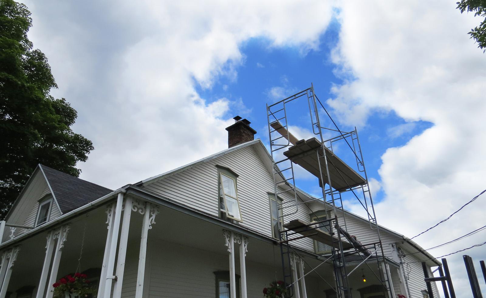 Rénovation cheminée