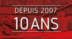10 ans Maçonnerie Durable