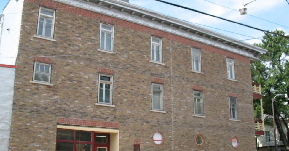 Restauration de murs de briques
