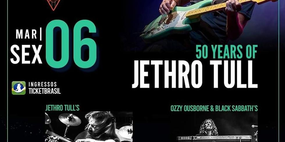 50 Anos Do Jethro Tull Com Martin Barre Em Curitiba Aniversários Desc