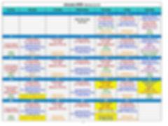 January 2020 Calendar - Revised January