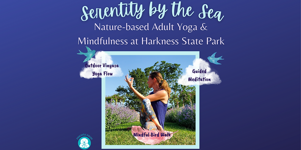 Serenity by the Sea: Adult Yoga & Mindfulness Class at Harkness State Park