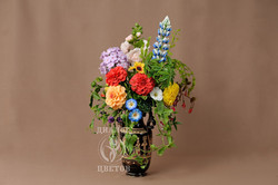 """""""Букет в античной вазе"""""""