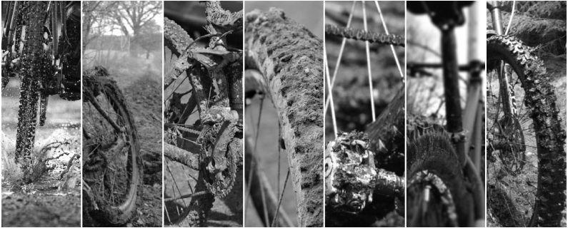 Muddy bike. Waterproof bike bag. Waterproof shoe bag. Mountain bike bag. Bicycle bag.
