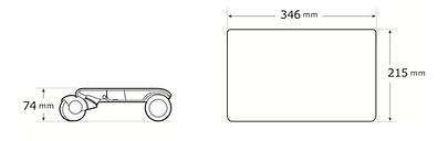 ウォーカー サイズ 図面