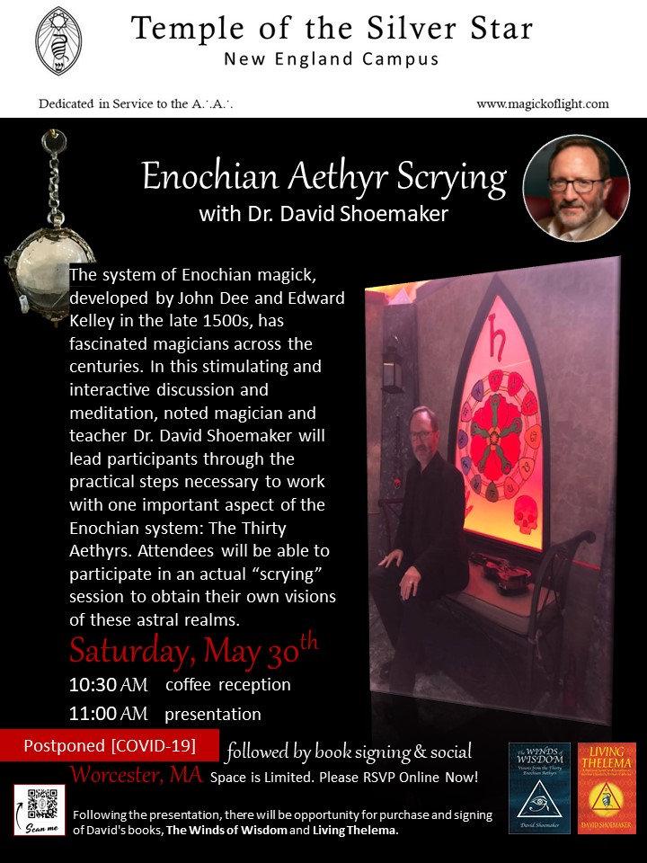 Enochian Aethyr Scrying with Dr David Sh