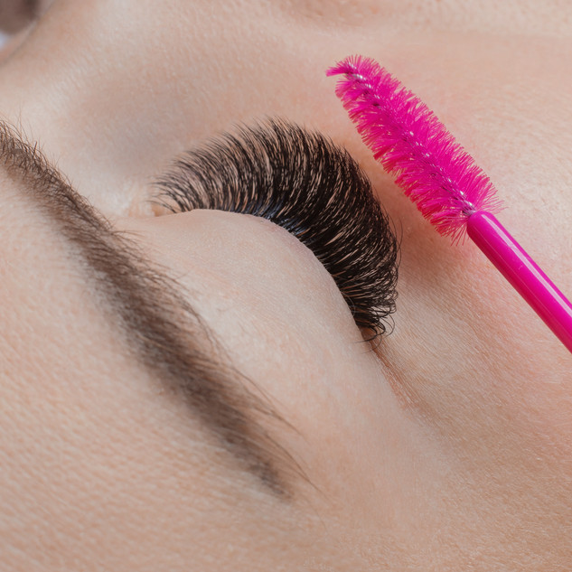 Eyelash extension procedure.lasandyou,ma