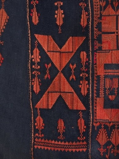 'Cypress Tree' motif, dress, late 19th or early 20th Century, British Museum, https://www.britishmuseum.org/collection/image/119846001.
