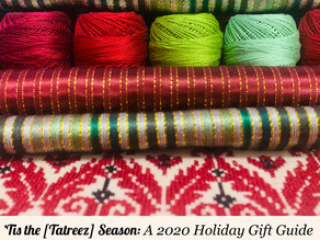 'Tis the [Tatreez] Season: A 2020 Holiday Gift Guide for Tatreez Lovers & Practitioners