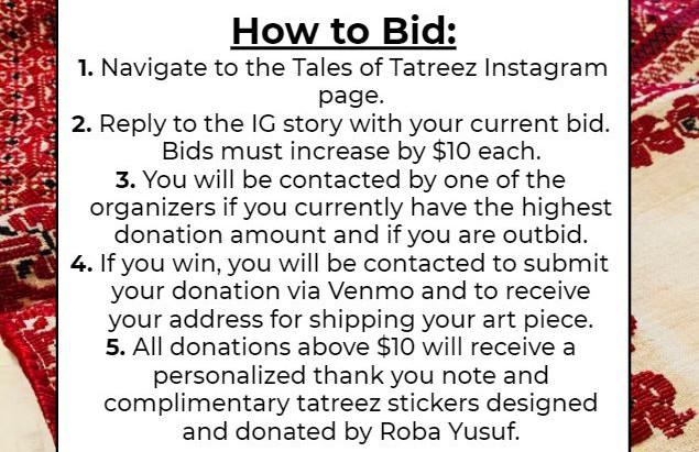 A Tatreez Fundraiser for Lebanon & Gaza