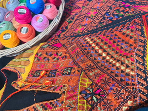 Teaching Young Kids about Tatreez: A Free & Fun Family Craft