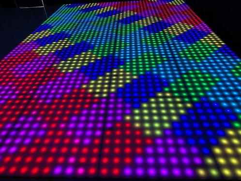 "Pixel LED 100 dansvloer ""ultra dun"""