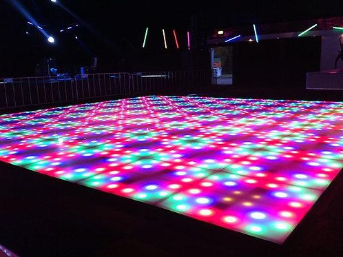 Patronen LED dansvloer
