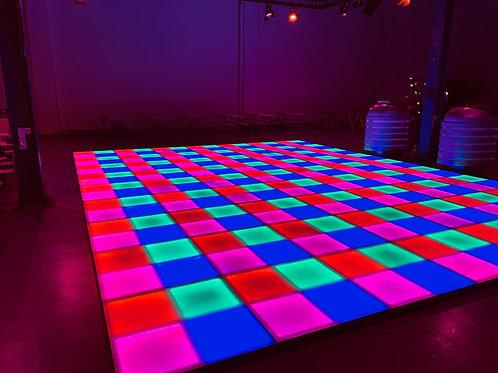 Vlak LED dansvloer
