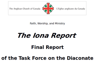 "Anglican Church of Canada's ""Iona Report"""