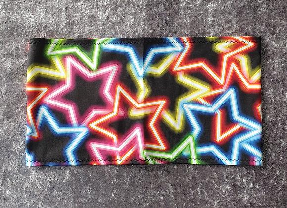 Neon Star Bandeau Crop Top size 6-8