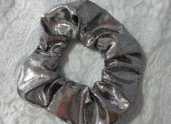 Grey Hologram Scrunchie