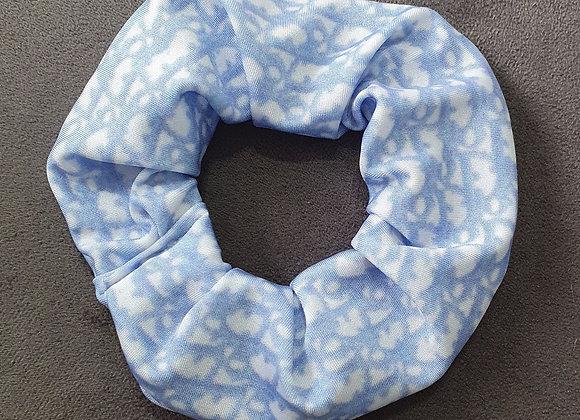 Light Blue Adiorable Scrunchie