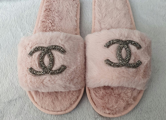 Baby Pink C Slippers