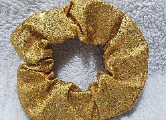 Gold Hologram Scrunchie