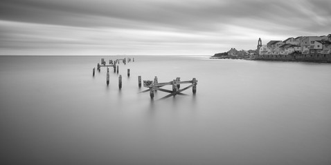 Misty Old Pier Tracey Medcalfe Photography Swanage Dorset