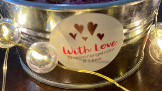 With Love Candle
