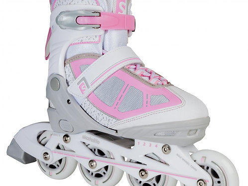 PATIN SKATELIFE LAVA ADJUSTABLE Grey/Pink