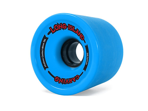 Long Island carving wheels 69x55mm blue