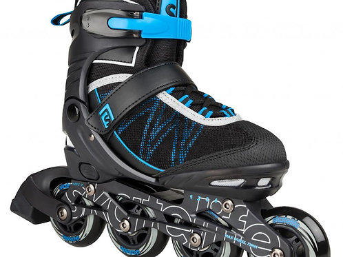 PATIN SKATELIFE LAVA  ADJUSTABLE New Black/Blue