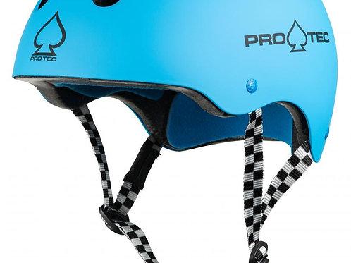 Pro-Tec HelmetClassic CertifiedGloss Blue Checker