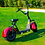 Thumbnail: Scooter Eléctrico Chopper 1400W/12aH Rojo/Negro