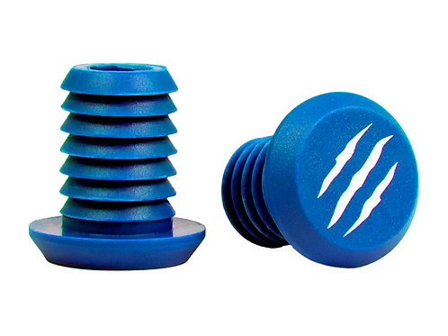 Tapones Grips Bestial Wolf. Azul