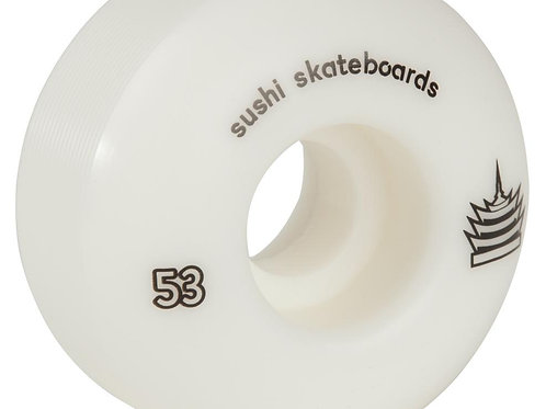 Sushi WheelsPagoda TeamWhite53  MM