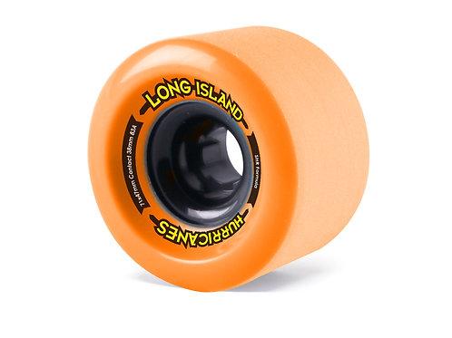 Long Island Longboards Hurricanes wheels 71x47mm orange