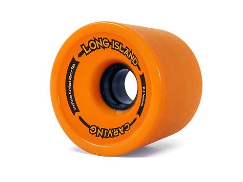 Long Island carving wheels 69x55mm orange