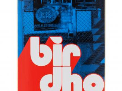 Birdhouse Logo Deck	Stacked	Blue/Red	8  IN