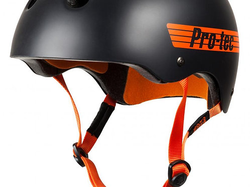Pro-Tec HelmetClassic Pro BuckySatin Black/Orange