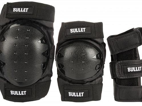 Bullet Combo Standard PadsetAdultBlack